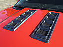 Retro USA Camaro Hood Vents-Carbon Fiber Finish